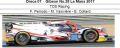 ◎予約品◎ Oreca 07 ‐ Gibson No.28 Le Mans 2017  TDS Racing  F. Perrodo - M. Vaxiviere - E. Collard