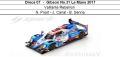 ◎予約品◎ Oreca 07 ‐ Gibson No.31 Le Mans 2017  Vaillante Rebellion  N. Prost - J. Canal - B. Senna