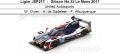 ◎予約品◎ Ligier JS P217 ‐ Gibson No.32 Le Mans 2017  United Autosports  W. Owen - H. de Sadeleer - F. Albuquerque