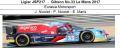 ◎予約品◎ Ligier JS P217 ‐ Gibson No.33 Le Mans 2017  Eurasia Motorsport  J. Nicolet - P. Nicolet - E. Maris