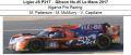 ◎予約品◎ Ligier JS P217 ‐ Gibson No.45 Le Mans 2017  Algarve Pro Racing  M. Patterson - M. McMurry - V. Capillaire