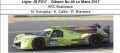 ◎予約品◎ Ligier JS P217 ‐ Gibson No.49 Le Mans 2017  ARC Bratislava  M. Konopka - K. Calko - R. Breukers