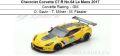 ◎予約品◎ Chevrolet Corvette C7.R No.64 Le Mans 2017  Corvette Racing ‐ GM O. Gavin - T. Milner - M. Fassler