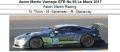 ◎予約品◎ Aston Martin Vantage GTE No.95 Le Mans 2017  Aston Martin Racing  N. Thiim - M. Sorensen - R. Stanaway