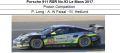 ◎予約品◎ Porsche 911 RSR No.93 Le Mans 2017  Proton Competition  P. Long - A. Al Faisal - M. Hedlund