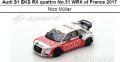 ◎予約品◎Audi S1 EKS RX quattro No.51 WRX of France 2017  Nico Muller