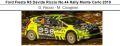 ◎予約品◎ Ford Fiesta R5 Davide Riccio No.44 Rally Monte Carlo 2019 D. Riccio - M. Cicognini