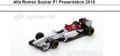 ◎予約品◎Alfa Romeo Sauber F1 Presentation 2018