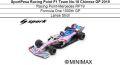 ◎予約品◎1/18 SportPesa Racing Point F1 Team No.18 Chinese GP 2019  RP19 Formula One 1000th GP L.ストロール