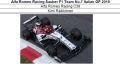 ◎予約品◎Alfa Romeo Racing Sauber F1 Team No.7 Italian GP 2019  Alfa Romeo Racing C38 K.ライコネン
