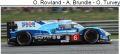 ◎予約品◎ Ginetta G60-LT-P1 - Mechachrome No.6 CEFC TRSM Racing 24H Le Mans 2018 O. Rowland - A. Brundle - O. Turvey