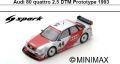 ◎予約品◎ Audi 80 quattro 2.5 DTM Prototype 1993