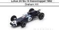 ◎予約品◎ Lotus 24 No.14 Kanonloppet 1962  Graham Hill