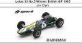 ◎予約品◎ Lotus 33 No.5 Winner British GP 1965 Jim Clark