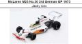 ◎予約品◎ McLaren M23 No.30 3rd German GP 1973  Jacky Ickx