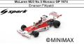 ◎予約品◎ McLaren M23 No.5 Monaco GP 1974 Emerson Fittipaldi