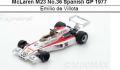 ◎予約品◎ McLaren M23 No.36 Spanish GP 1977  Emilio de Villota