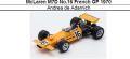 ◎予約品◎ McLaren M7D No.16 French GP 1970 Andrea de Adamich