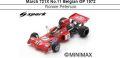 ◎予約品◎ March 721X No.11 Belgian GP 1972  Ronnie Peterson