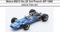 ◎予約品◎ Matra MS10 No.28 3rd French GP 1968  Jackie Stewart
