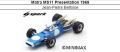 ◎予約品◎ Matra MS11 Presentation 1968 Jean-Pierre Beltoise
