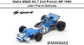 ◎予約品◎ Matra MS80 No.7 2nd French GP 1969 Jean-Pierre Beltoise