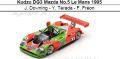 ◎予約品◎ Kudzu DG3 Mazda No.5 Le Mans 1995  J. Downing - Y. Terada - F. Freon