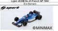 ◎予約品◎ Ligier JS39B No.25 French GP 1994 Eric Bernard