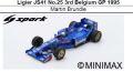 ◎予約品◎ Ligier JS41 No.25 3rd Belgium GP 1995 Martin Brundle