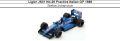 ◎予約品◎ Ligier JS31 No.26 Practice Italian GP 1988 Stefan Johansson