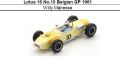 ◎予約品◎ Lotus 18 No.10 Belgian GP 1961 Willy Mairesse