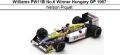 ◎予約品◎ Williams FW11B No.6 Winner Hungary GP 1987 Nelson Piquet