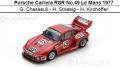 ◎予約品◎ Porsche Carrera RSR No.49 Le Mans 1977  G. Chasseuil - H. Striebig - H. Kirchoffer