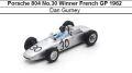 ◎予約品◎ Porsche 804 No.30 Winner French GP 1962 Dan Gurney