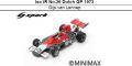 ◎予約品◎ Iso IR No.26 Dutch GP 1973 Gijs van Lennep