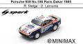 ◎予約品◎ Porsche 959 No.186 Paris Dakar 1985 R. Metge - D. Lemoine