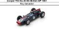◎予約品◎ Cooper T53 No.36 6th British GP 1961 Roy Salvadori