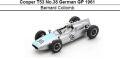 ◎予約品◎ Cooper T53 No.38 German GP 1961 Bernard Collomb