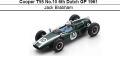 ◎予約品◎ Cooper T55 No.10 6th Dutch GP 1961 Jack Brabham
