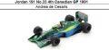 ◎予約品◎ Jordan 191 No.33 4th Canadian GP 1991 Andrea de Cesaris