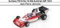 ◎予約品◎ Surtees TS16 No.19 NQ Austrian GP 1974 Jean-Pierre Jabouille
