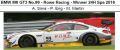 ◎予約品◎ BMW M6 GT3 No.99 - Rowe Racing - Winner 24H Spa 2016 A. Sims - P. Eng - M. Martin