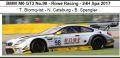 ◎予約品◎ BMW M6 GT3 No.98 - Rowe Racing - 24H Spa 2017 T. Blomqvist - N. Catsburg - B. Spengler