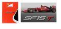 ◆1/43 フェラーリ SF15-T 2015 No.5 S.ベッテル  【トライバー無し】◆1週間程で入荷◆