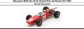 ◎予約品◎ McLaren M4A No.24 2e Grand Prix de Rouen F2 1967 Bruce McLaren