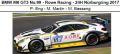 ◎予約品◎ BMW M6 GT3 No.99 - Rowe Racing - 24H Nurburgring 2017 P. Eng - M. Martin - M. Basseng