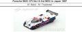 ◎予約品◎Porsche 962C GTi No.15 3rd WEC in Japan 1987  M. Baldi - M. Thackwell