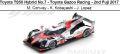 ◎予約品◎ Toyota TS50 Hybrid No.7 - Toyota Gazoo Racing - 2nd Fuji 2017 M. Conway - K. Kobayashi - J. Lopez