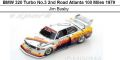 ◎予約品◎ BMW 320 Turbo No.3 2nd Road Atlanta 100 Miles 1979  Jim Busby