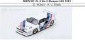 ◎予約品◎ BMW M1 Gr.5 No.2 Mosport 6H 1981  D. Hobbs - H.-J. Stuck